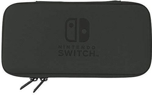 - HORI Slim Tough Pouch - Black for Nintendo Switch Lite