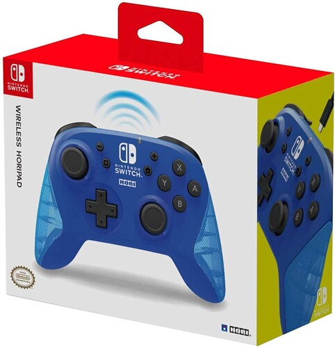 - HORI Wireless HORIPAD - Blue - for Nintendo Switch