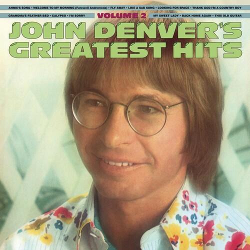 John Denver - Greatest Hits Volume Two [180 Gram Translucent Gold & Blue Swirl Vinyl/Limited Anniversary Edition/Gatefold Cover LP]