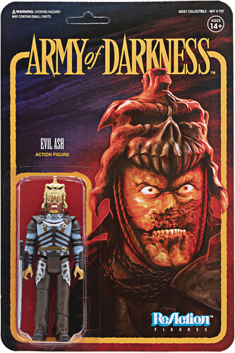 Army of Darkness Reaction Wave 1 - Evil Ash - Army of Darkness ReAction wave 1 - Evil Ash