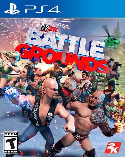 Ps4 WWE 2K Battlegrounds - WWE 2K Battlegrounds for PlayStation 4