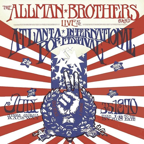 Live At The Atlanta International Pop Festival JULY 3 & 5, 1970