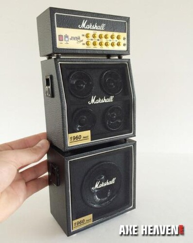 MARSHALL MINI AMP FULL STACK REPLICA COLLECTIBLE