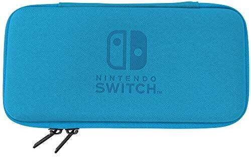 - HORI Slim Tough Pouch - Blue for Nintendo Switch Lite