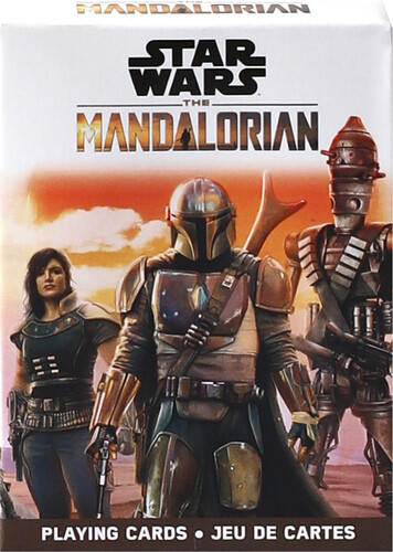 STAR WARS MANDALORIAN PLAYING CARDS