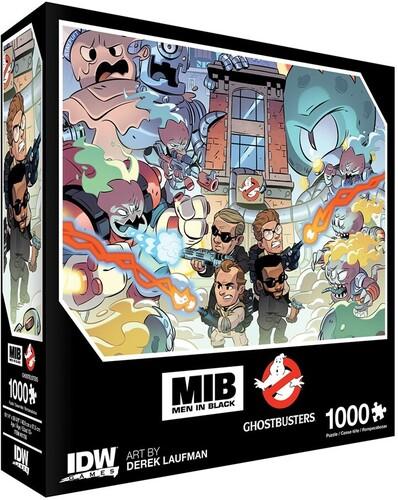 - Men In Black/Ghostbusters: Ecto-terrestrial Invasion Premium Puzzle(1000-pc)