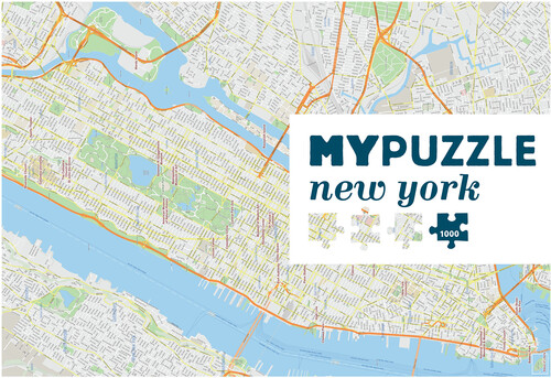 MYPUZZLE NEW YORK CITY 1000 PC JIGSAW PUZZLE