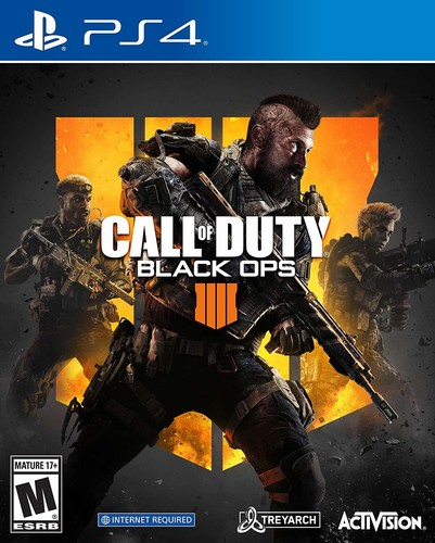 Ps4 Call of Duty: Black Ops 4 - Ps4 Call Of Duty: Black Ops 4