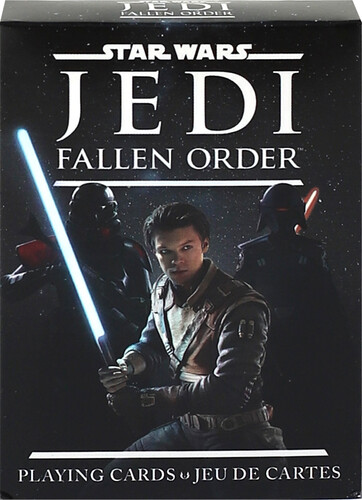 STAR WARS JEDI: FALLEN ORDER PLAYING CARDS
