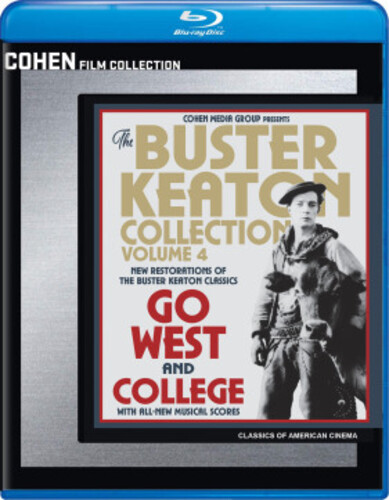 The Buster Keaton Collection: Volume 4 (Go West /  College)