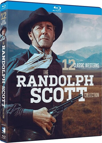 The Randolph Scott Collection: 12 Classic Westerns