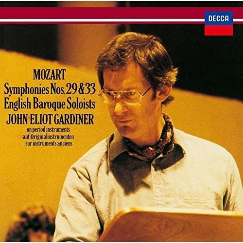 Mozart: Symphonies No. 29 & No. 33