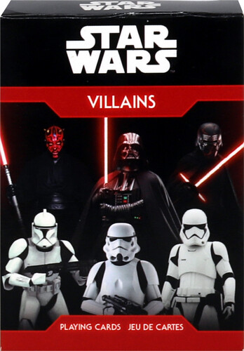 STAR WARS VILLAINS PLAYING CARDS DECK