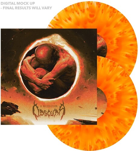 Obscura - Valediction (Cloudy Yellow Orange) [Colored Vinyl] [Limited Edition]