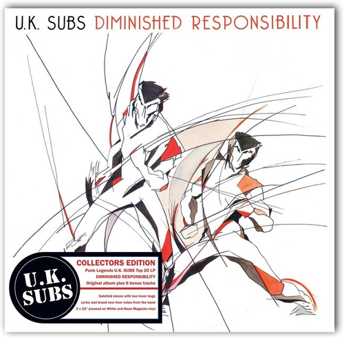 UK Subs - Diminished Responsibility [Double 10-Inch]