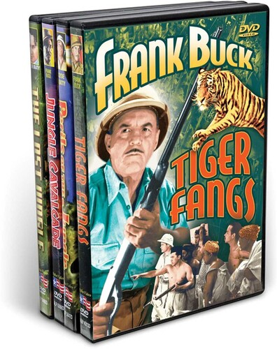 Frank Buck & Clyde Beatty: The Bring Em Back Alive Collection