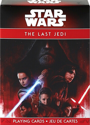 STAR WARS EPISODE 8 THE LAST JEDI PLAYING CARDS