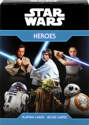 STAR WARS HEROES PLAYING CARDS DECK