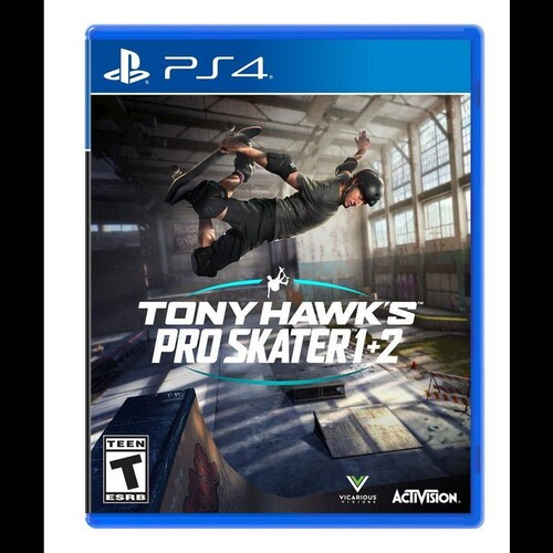Ps4 Tony Hawk Pro Skater 1+2 - Tony Hawk Pro Skater 1 + 2 for PlayStation 4