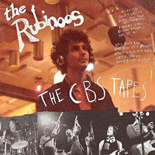 Rubinoos - Cbs Tapes (Blk) [Colored Vinyl] [Limited Edition] (Red) [Download Included]