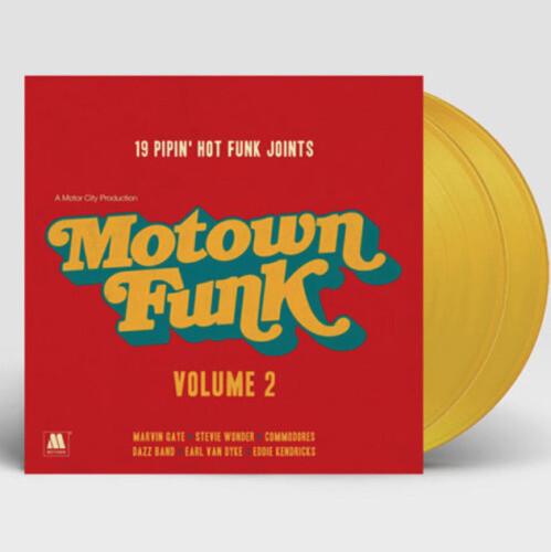 Motown Funk Volume 2 (Yellow Vinyl) [Import]