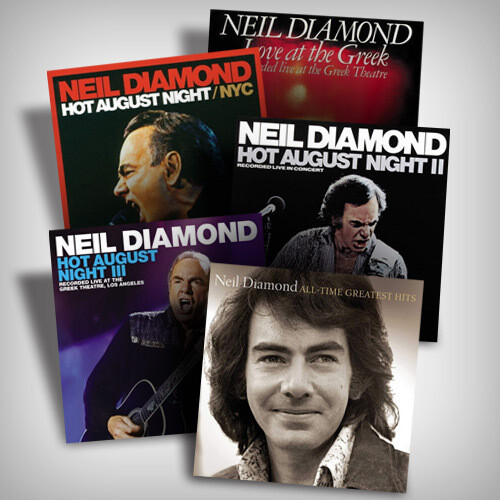Neil Diamond Vinyl Bundle