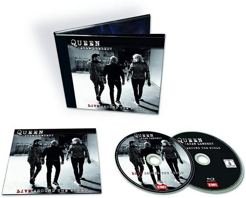 Queen + Adam Lambert - Live Around The World [CD/Blu-ray]
