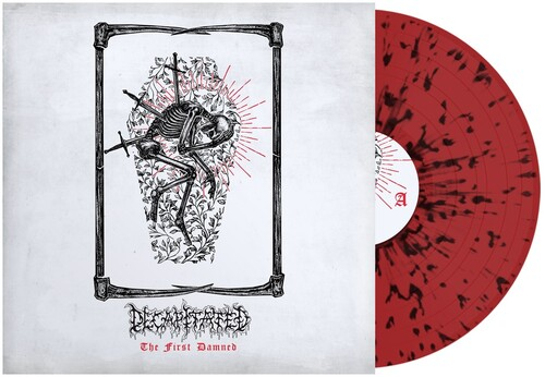 Decapitated - First Damned (Red & Black Splatter) (Blk) [Colored Vinyl]