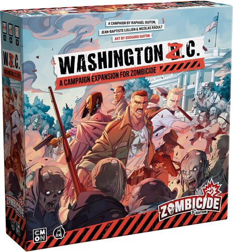 ZOMBICIDE 2ND ED WASHINGTON Z.C. EXP FOR ZOMBICIDE
