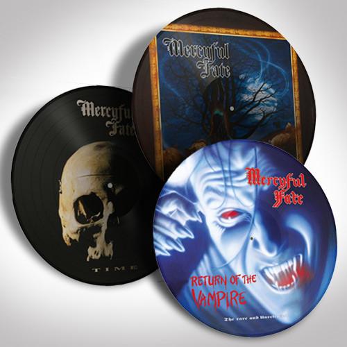 Mercyful Fate Picture Disc Bundle Set #2