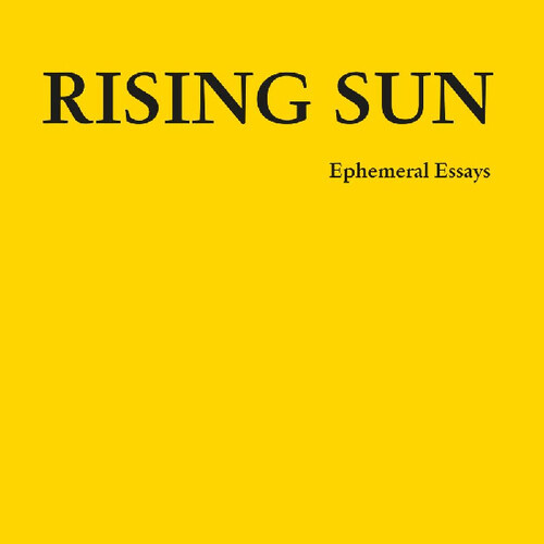 Ephemeral Essays