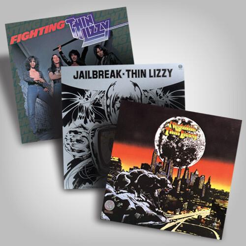 Thin Lizzy Vinyl Bundle