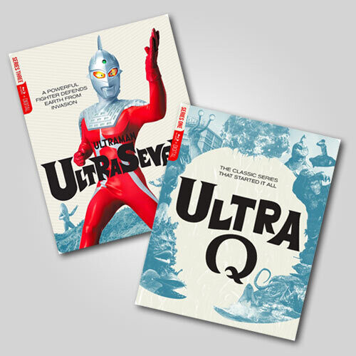 Ultra Q And Ultraman Complete Steelbook Bundle