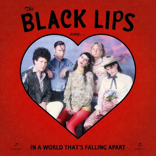 The Black Lips - Sing In A World That's Falling Apart [Indie Exclusive Limited Edition Red LP]