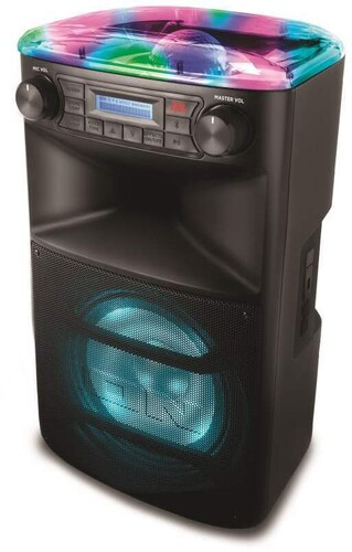 ION IPA107 BLOCK PARTY ULTRA BT 120W PA BLACK