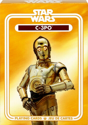 STAR WARS C3PO PLAYING CARDS DECK