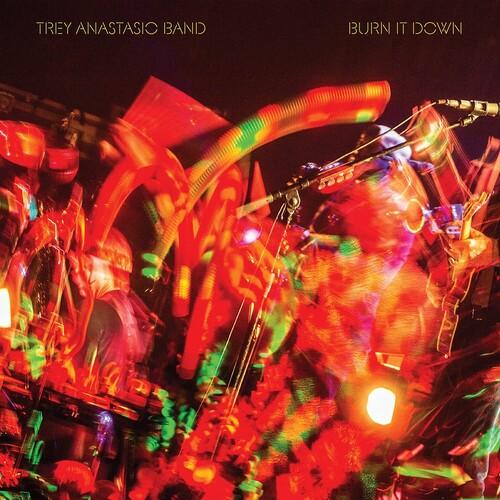 Trey Anastasio - Burn It Down (Live) [Plasma Orange 3 LP]