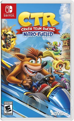 Swi Crash Team Racing - Crash Team Racing: Nitro Fueled for Nintendo Switch