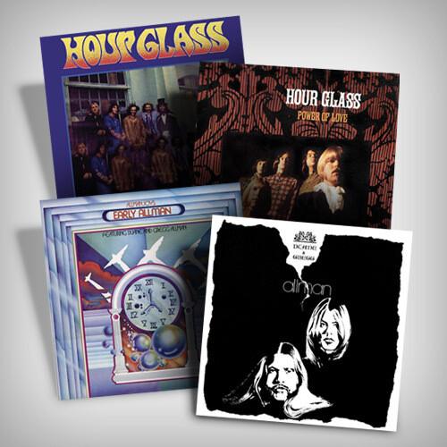Gregg & Duane Allman Vinyl Bundle