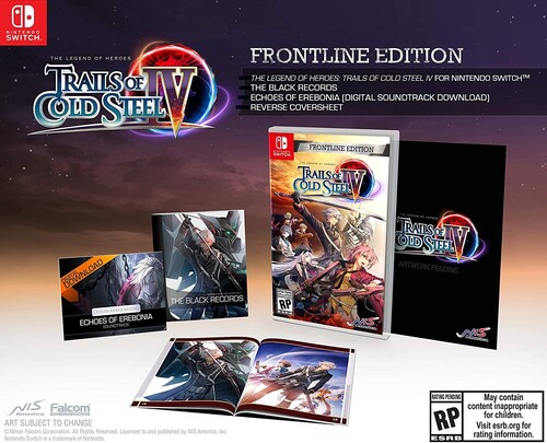 Legend of Heroes: Trails of Cold Steel IV Frontline Edition forNintendo Switch