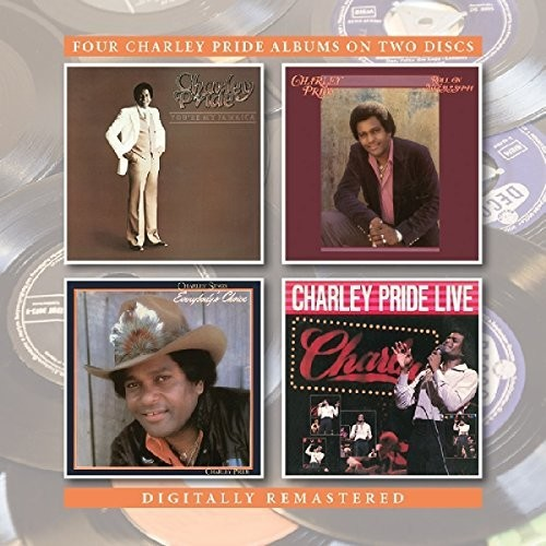 You're My Jamaica /  Roll On Mississippi /  Charley Pride [Import]