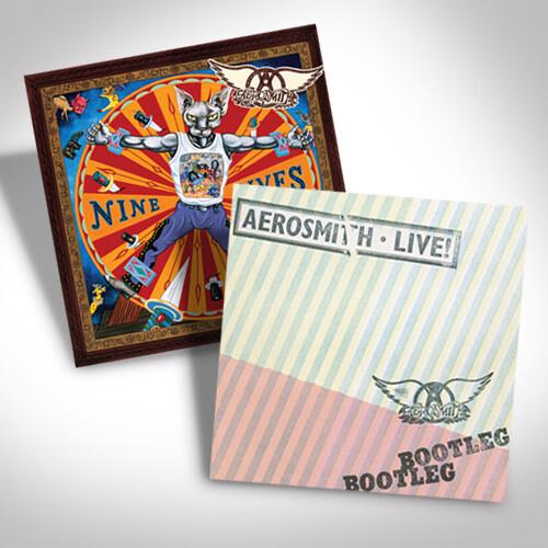 Aerosmith Vinyl Bundle