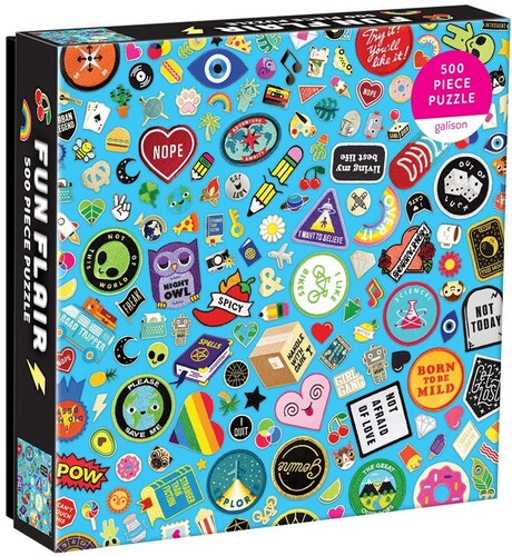 - Fun Flair 500 Piece Puzzle
