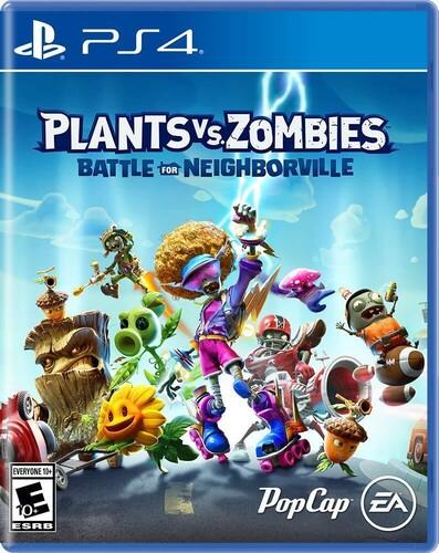 Ps4 Plants vs Zombies: Battle for Neighborville - Plants Vs. Zombies: Battle for Neighborville for PlayStation 4