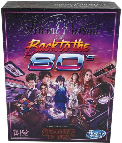 TRIVIAL PURSUIT STRANGER THINGS 80S TRIVIAL