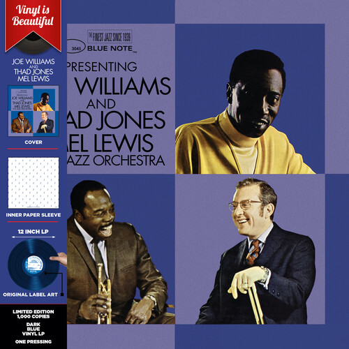 Presenting Joe Williams and Thad Jones/ Mel Lewis, the Jazz Orchestra