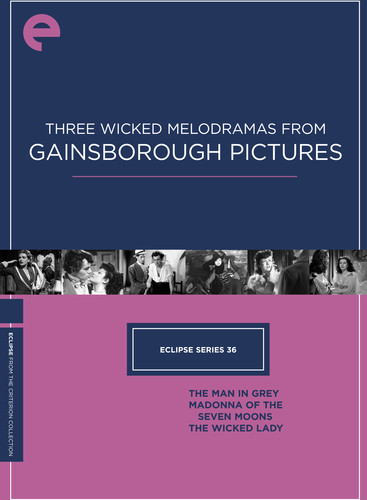 Three Wicked Melodramas From Gainsborough (Criterion Collection - Eclipse Series 36)