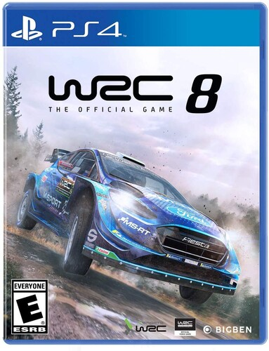 - WRC 8 FIA World Rally Championship for PlayStation 4
