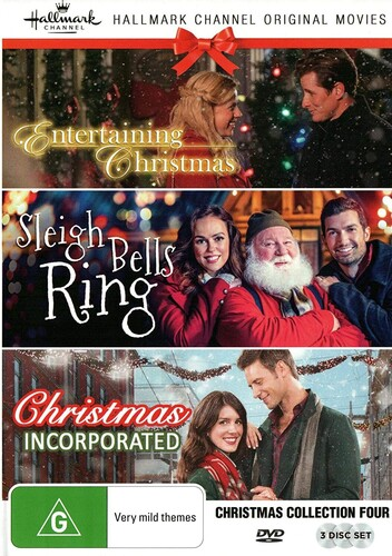 Hallmark Christmas Collection 4: Entertaining Christmas /  Sleigh BellsRing /  Christmas Incorporated [NTSC/ 0] [Import]