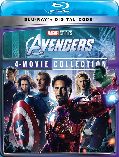Avengers: 4-Movie Collection (Marvel)